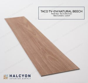 TV-014 Natural Beech by Halcyon Interior