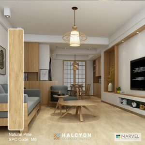 marvel-M6-Natural-Pine by Halcyon Interior