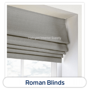 Roman Blinds Product by Halcyon Interior