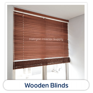 Wooden Blinds Product by Halcyon Interior