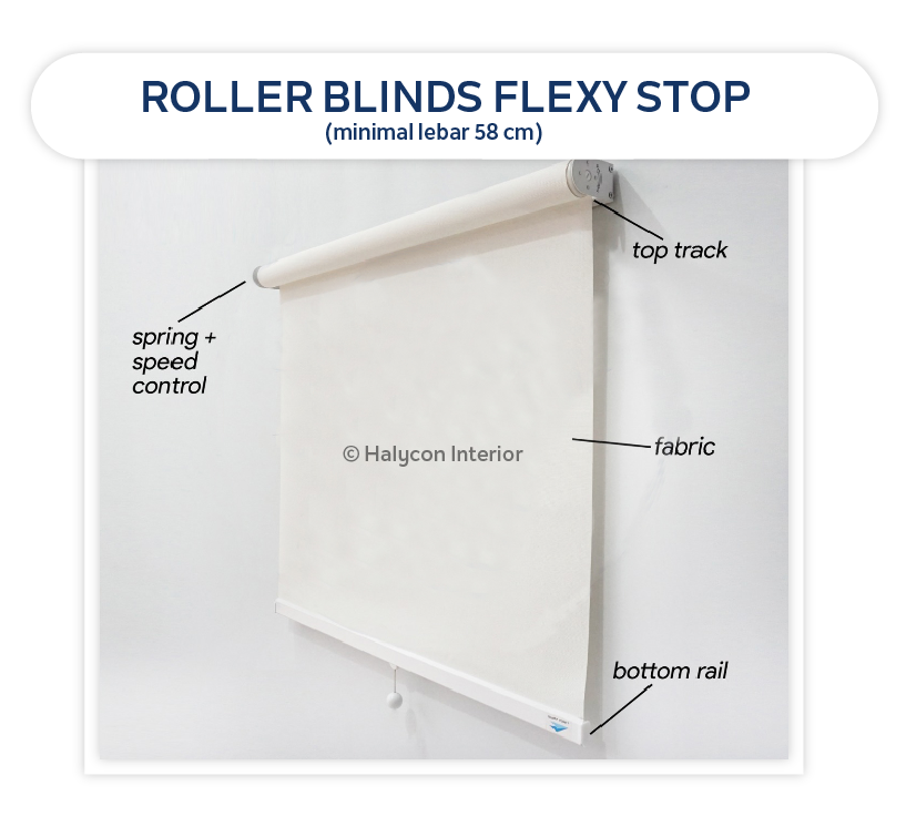 roller blinds flexy stop by halcyon interior