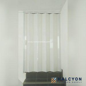 folding door pvc39 by halcyon interior